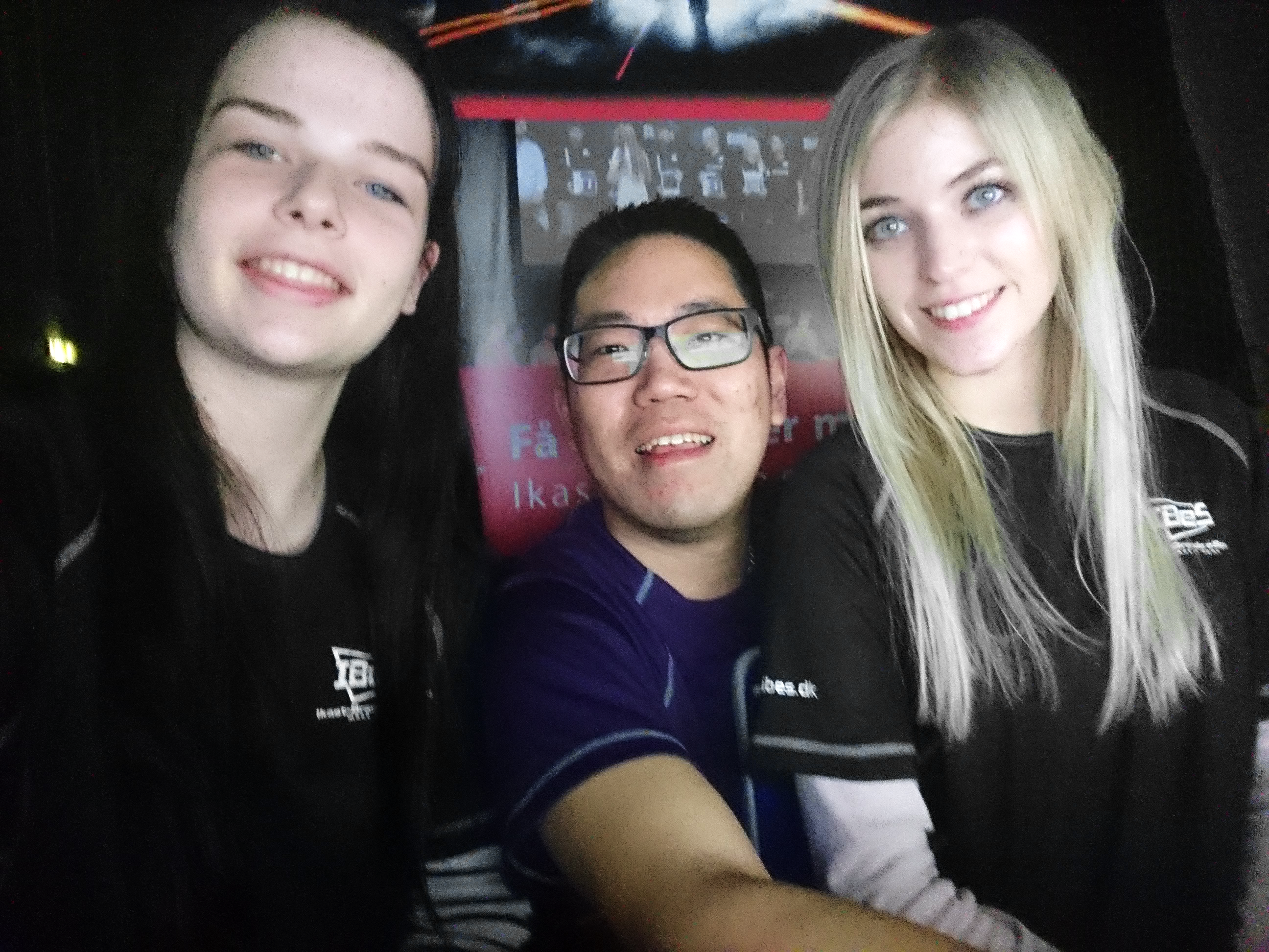 IBeS Casting team – Camilla, Katrine & Dennis