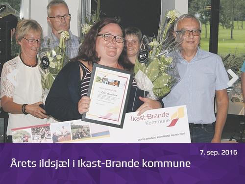 Årets ildsjæl i Ikast-Brande kommune - pressrum