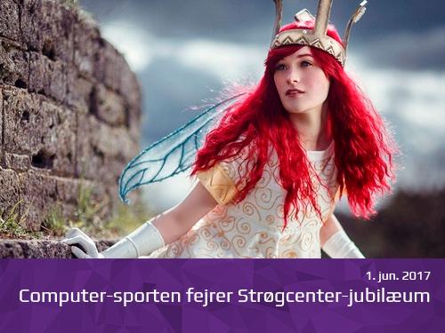Computersporten fejrer Strøgcenter jubilæum - presserum