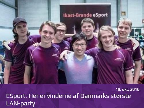 ESport-Her er vinderne af Danmarks største LAN party - presserum