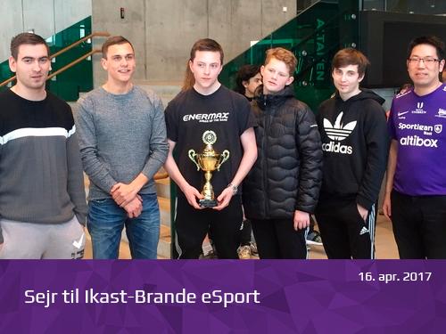 Sejr til Ikast-Brande eSport - presserum