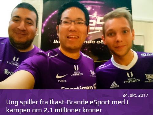 Ung spiller fra Ikast-Brande eSport med i kampen om 21 millioner kroner - presserum